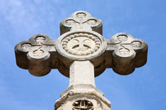 Stone cross Stock Photos