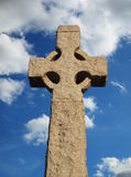Stone Cross. On a street in London Royalty Free Stock Photo