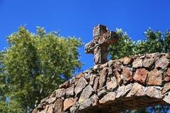 Stone Cross Stock Image