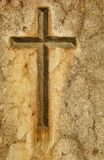 Stone cross Stock Images