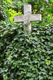 Stone cross Royalty Free Stock Photography