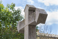 Stone cross. Stock Photos