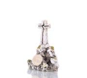 Stone Cross. Royalty Free Stock Photos