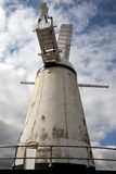Stone Cross Windmill. Is located on high ground in the village of Stone Cross, just north of Eastbourne in East Sussex Stock Photos