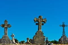 Stone Crosses Royalty Free Stock Photos