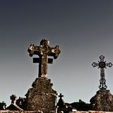 Stone Crosses Royalty Free Stock Images