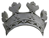 Stone Crown Royalty Free Stock Image