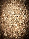 Stone crumb. As a background, rocky soil royalty free stock images
