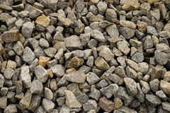 Stone crushed. Much stone crushed natural minerals stock photos