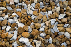 Stone crushed. Granite gray mineral stock photography