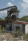 Stone crusher abandoned. Cilento Royalty Free Stock Photography
