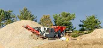 Stone Crusher Royalty Free Stock Photos