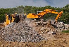 Stone crusher Royalty Free Stock Image