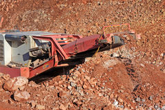 Stone Crusher Stock Photo