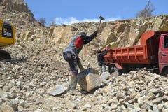 Stone Crusher Royalty Free Stock Photo