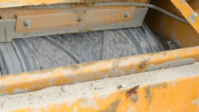 Stone crusher at the quarry stock footage