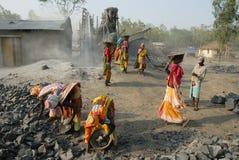 Stone crushers in India Stock Photos