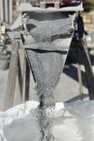 Stone crushing plant Royalty Free Stock Photo