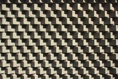 Stone cube blocks, perspective geometric background.  Stock Photo