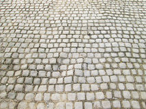 Stone cubes, path, background Royalty Free Stock Image