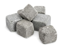 Stone cubes Stock Photos