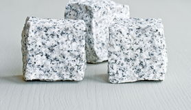 Stone cubes Stock Photography