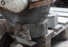 Stone cutter Stock Photos