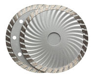 Stone cutting disks Royalty Free Stock Photo