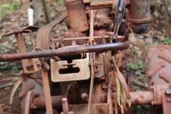 Stone cutting machine stock image