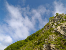 Stone declivity of mountain Stock Photography