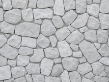 Stone decorate wall Royalty Free Stock Photo