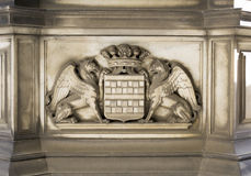 Stone Decoration (Genoa City Symbol) Royalty Free Stock Image