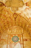 The stone decorations of Bab al-Silsila Royalty Free Stock Image