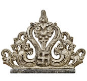 Stone decorative carving Stock Images