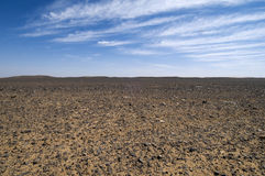 Stone Desert Stock Images