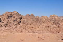 Stone desert Royalty Free Stock Photos