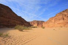 Stone desert Royalty Free Stock Photography