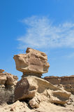 Stone desert in Ischigualasto, Argentina. Stock Images