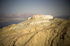 Stone desert in Israel Royalty Free Stock Photos