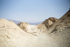 Stone desert in Israel Stock Photos