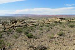 Stone desert landscape Royalty Free Stock Image