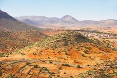 Stone desert (Morocco) Stock Image