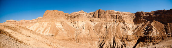 Stone desert panorama Royalty Free Stock Photos