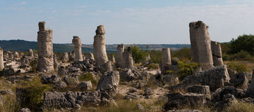The Stone Desert (Pobiti kamani) near Varna, Bulgaria Stock Photo