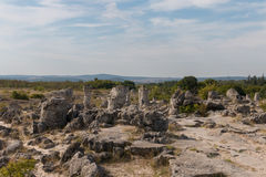 The Stone Desert (Pobiti kamani) near Varna, Bulgaria Stock Photos