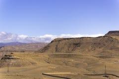 Stone desert. Desert of stones and gravel - Sahara - Best of Morocco Royalty Free Stock Photos