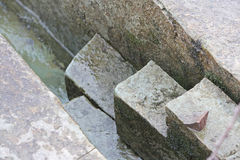 Stone detail Stock Photography