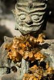 Stone Devil - Buddha Park, Vientiane. Laos Royalty Free Stock Image
