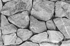 stone do tła stone tekstury białe ściany Czarny i biały Kamienna Piękna powierzchnia Obrazy Stock