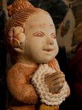 Stone doll Stock Image